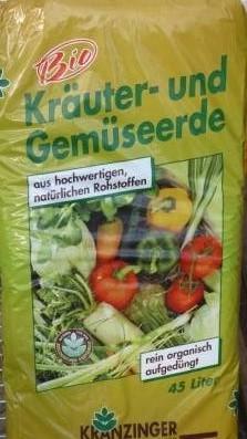 BIO Kräuter und Gemüse Erde 45l